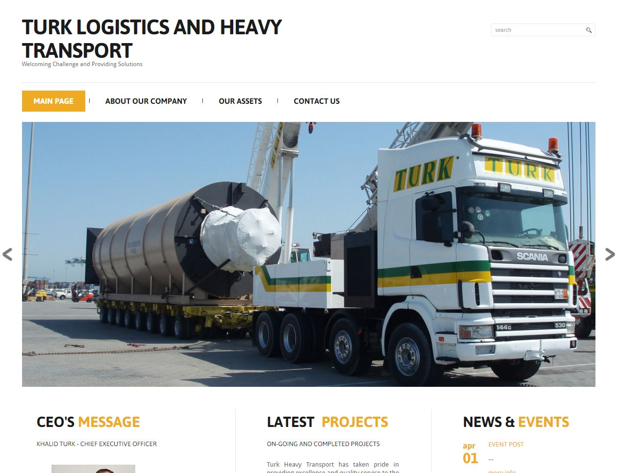 Turk Logistics and Heavy Transport - BHR